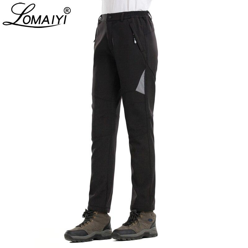 Lomaiyi Women S Winter Waterproof Pants Women Windproof Snow Reflective Trousers Palazzo Pantalon Female Softshell Pants Aw196 Pants Capris Aliexpress