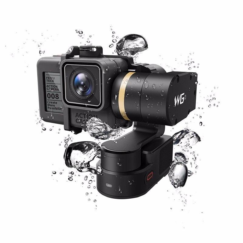 FeiyuTech Feiyu WG2 FY-WG2 3-Axis Wearable Waterproof Gimbal for GoPro Hero 5 4 Session new feiyu tech fy wg 3 axis wearable gimbal lightweight for gopro hero 4 3 3 camera photograrhy for aircraft ilookplus