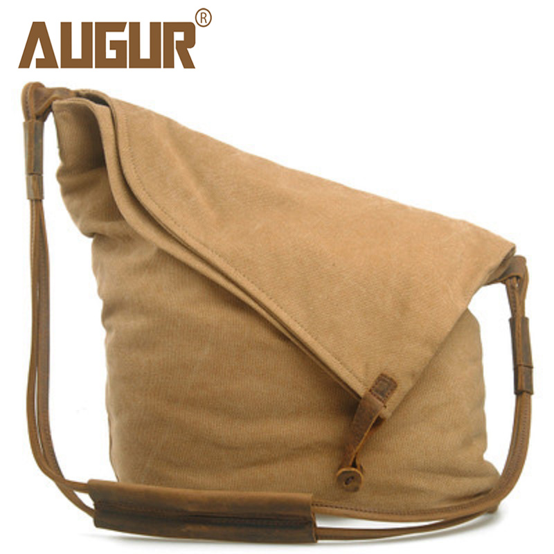 Men Couple Canvas Shoulder Bags Vintage National Style Woman Cross Body Messenger Bag For Boy Girls