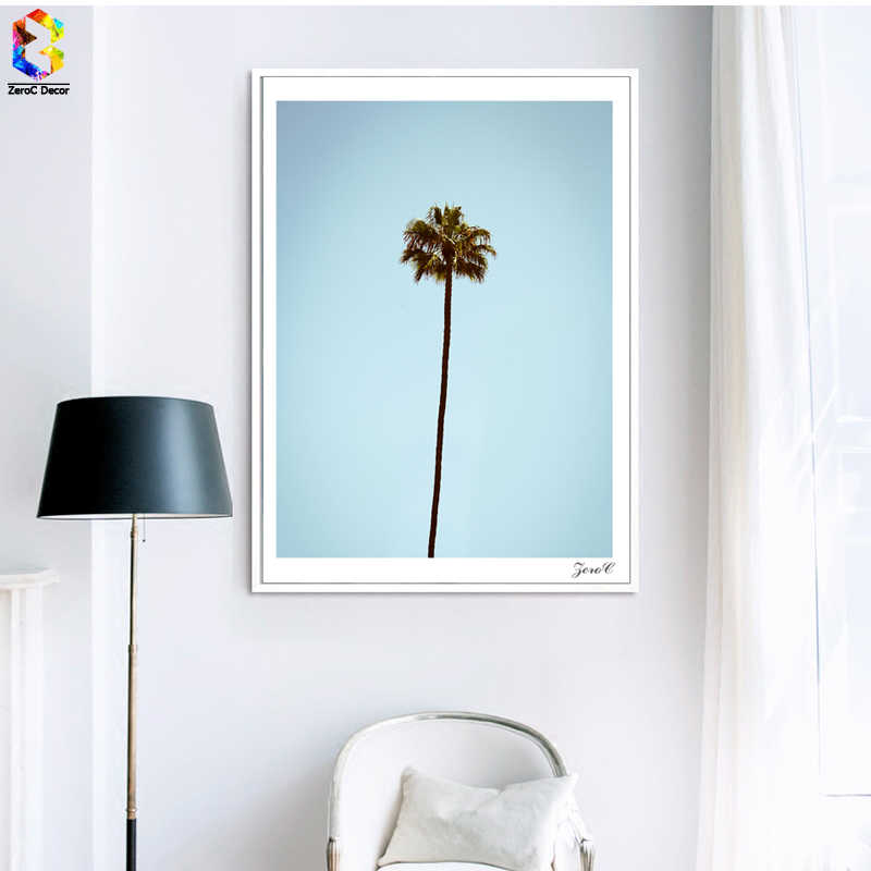 Tropical Minimalist Palm Posters and Prints Wall Art Canvas Painting Pictures For Living Room Scandinavian Home Decor