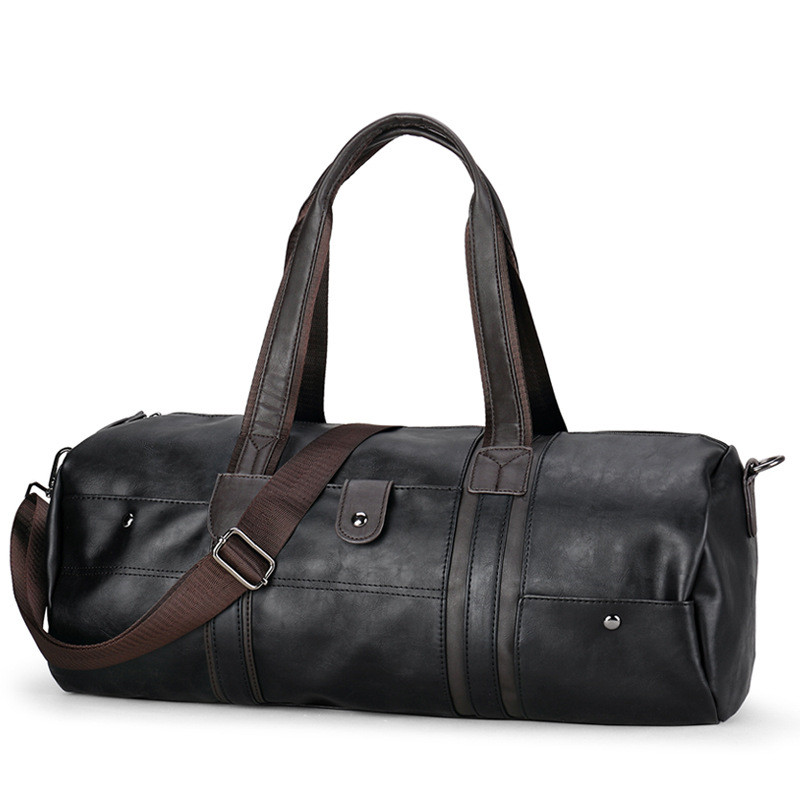 463e8db93743 Купить 2018 спортивная сумка мужская Горячие Для мужчин большой Ёмкость из искусственной  кожи спортивная сумка Фитнес путешествия сумки мужские су.