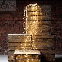 DC 12 V 180 leds Dây Leo lights Copper trắng/trắng ấm/xanh/red/green/vàng/hồng/Tím Giáng Sinh LED Dây cổ tích