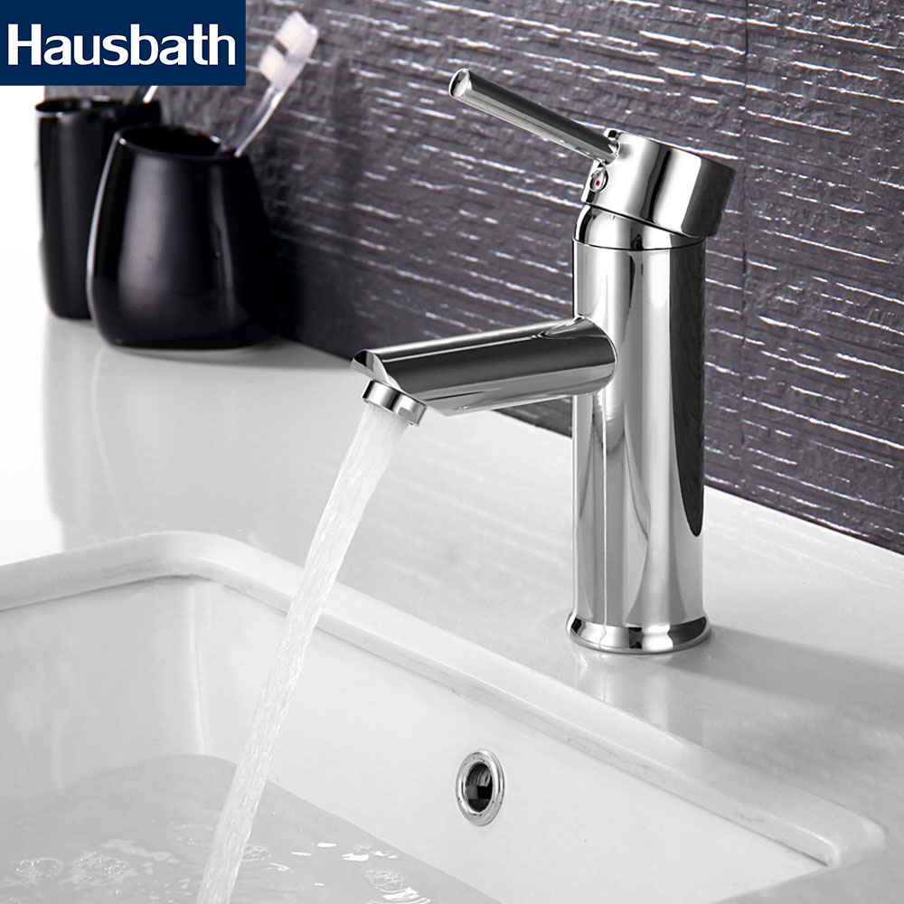 купить Bathroom Basin Faucet Mixer Basin Tap Stainless Steel Chrome Finished Single Hole Bathroom Taps Hot and Cold Water Tap по цене 2131.04 рублей