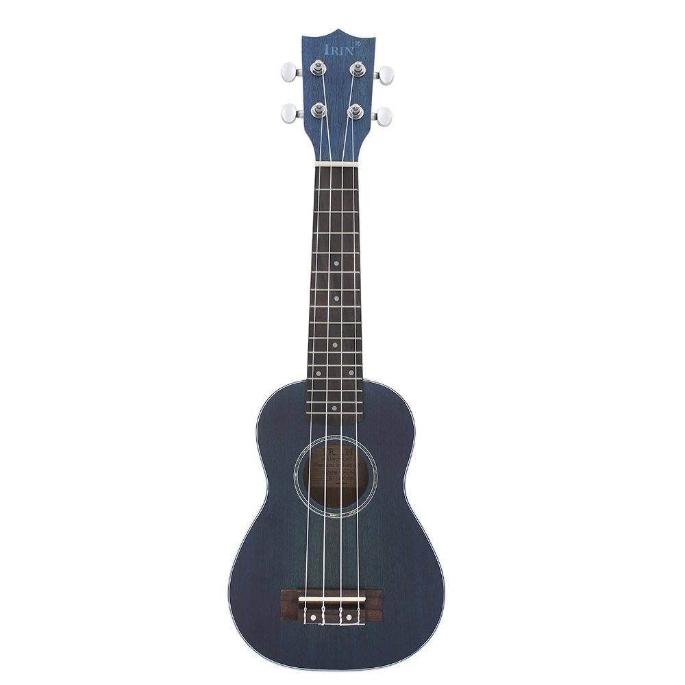 New IRIN 21 Ukelele Ukulele Spruce Body Rosewood Fretboard 4 Strings Stringed Instrument Blue syds good deal 17 mini ukelele ukulele spruce sapele top rosewood fretboard stringed instrument 4 strings with gig bag 2