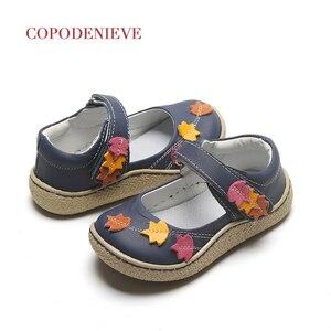 Image 1 - Copodenieve zapatos de cuero para niñas, zapatos escolares, de vestir, zapatos mary jane, accesorios para bebés