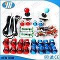 Arcade Joystick DIY Kit  Arcade USB Controller Handle + sanwa Joystick + 20 Illuminated Push Buttons For Arcade game Parts MAME