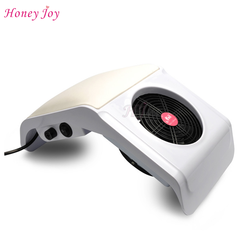 New 220V Nail Art Salon Suction Dust Collector Manicure Filing Acrylic UV Gel Tip Machine Vacuum Cleaner Salon Nail Art Tool цены онлайн