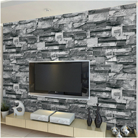 beibehang three dimensional simulation marble wallpaper stone pattern brick living room TV background wall hotel wallpaper