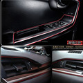 Стайлинга автомобилей внутренняя отделка стикеры автомобиля для renault megane 3 kia rio audi a4 b7 peugeot 407 406 audi a3 a6 c6 bmw e46 аксессуары