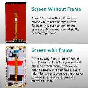 Image 5 - Écran LCD AAA IPS pour Huawei Mate 8 écran tactile numériseur capteur assemblée 6.0 pouces 1920*1080 cadre avec des outils de film de verre gratuit