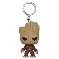 Guardians of The Galaxy Mini Figures Keychains: Groot, Rocket Raccoon and Star Lord 4
