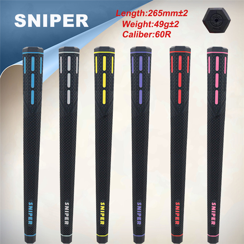wholesale 2017 SNIPER No 2 newest Hexagon golf club grips All weather wrap 13pcs lot freeshipping
