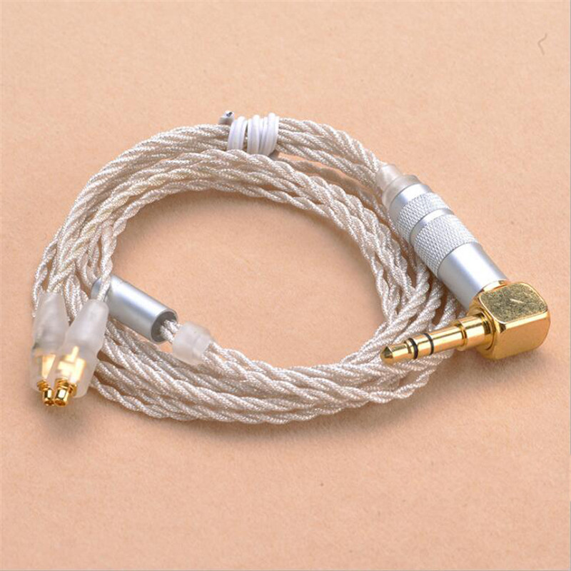 NAOI C29 3.5mm Male Pin Headphone Cable For Shure SE535 SE215 Audio Earphone Cable