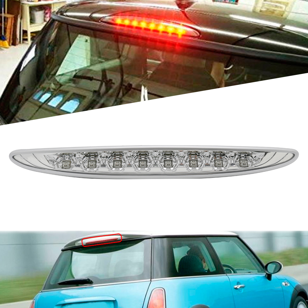 New Red color 10 LEDs high power led Vehicle Car Auto Fog Stop Tail Rear Brake Warning Light Lamp 12V for Mini R50 R53 R56 R60