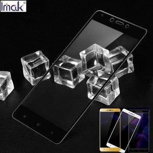 Image 2 - Imak Full Cover Gehard Glas voor Xiaomi Redmi Opmerking 4 X 4X Global Versie Glas Snapdragon625 Screen Protector Beschermende Film