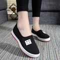 Spring Summer Casual Style Mesh Shoes Woman  Fashion Slip On Loafers Soft Light Breathable Flats Size 35-40 New Arrive Black