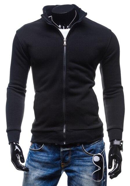 HD-DST 2017 новый мужской моды кардиган толстовки случайные хлопка куртка slim fit сплошной цвет топы