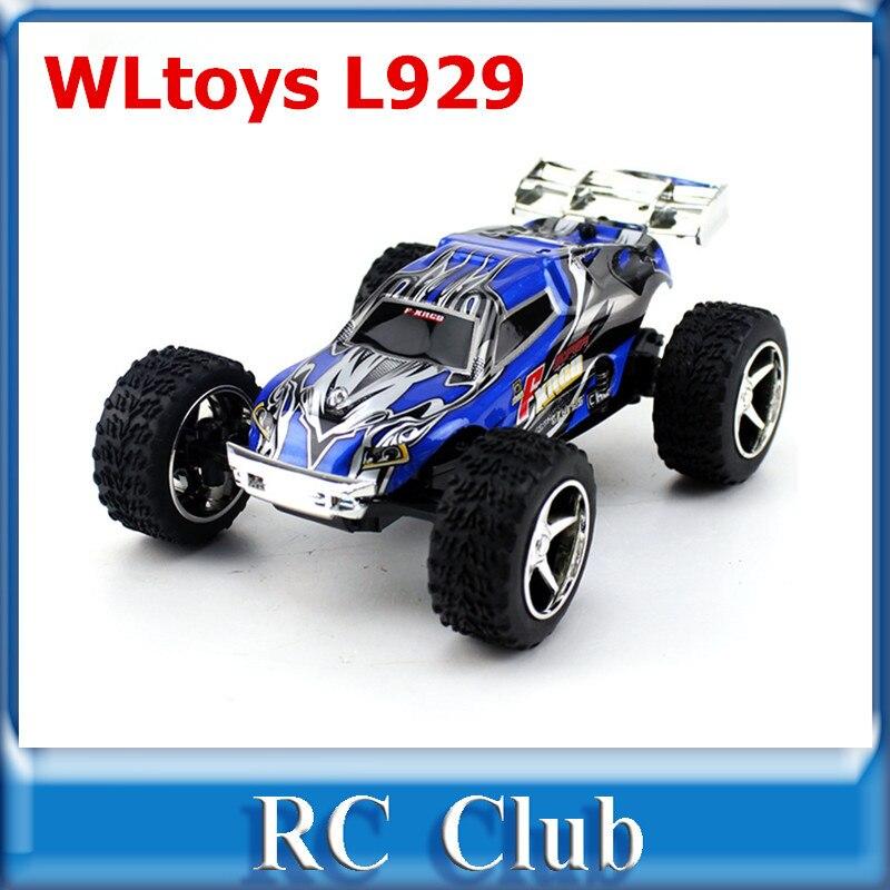 WLtoys L929 RC Car Children's Electric Car 2.4G Remote Control Toys 4CH Speeds Remote Control Car