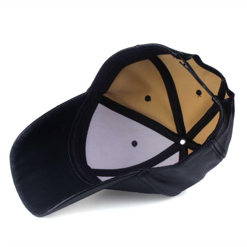 [YARBUU] قبعة 2017 جديد حار والشتاء بولي قبعة قبعة بيسبول جلدية السائق سائق شاحنة قبعات ترد لمكانها للرجال النساء قبعات شحن مجاني