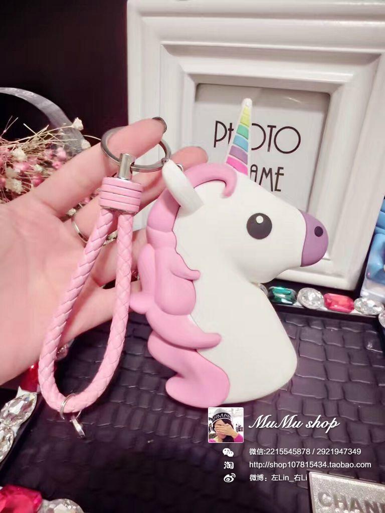 POOP Power Bnak 2600mah Funny Cute Emoji Unicorn Shaped Power Bank PVC Material Charge Mobile Cartoon Powerbank For Mobile Phone