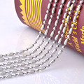 316L stainless steel necklace chain,stainless steel men necklace pendant matching chain wholesale dog tag chain