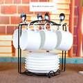 Europe coffee cup set bone china Tea Cup Mug Cups classic white coffee pod holder tea cup set Teatime Afternoon tea home decor