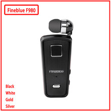 Fineblud F980 MINI manos libres inalámbricas auriculares con micrófono Mini Bluetooth soporte de vibración IOS Android(China)