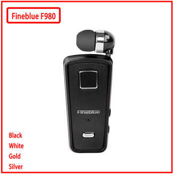 Fineblue F980 MINI Wireless In-Ear Handsfree with Microphone Headset Mini Bluetooth Earphone Vibration Support IOS Android - DISCOUNT ITEM  50% OFF All Category