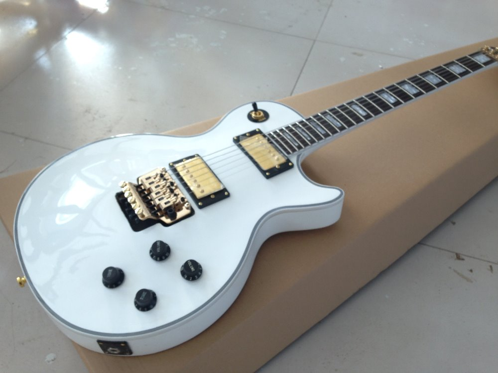 high quality lp custom electric guitar with floyd rose bridge in guitar from sports. Black Bedroom Furniture Sets. Home Design Ideas