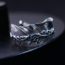 925  silver jewelry feather tang grass open men and women lovers ring silver restoring ancient ways ring wholesale products accessories wholesale and the hand of fatima restoring ancient ways ring hamsa ring ring