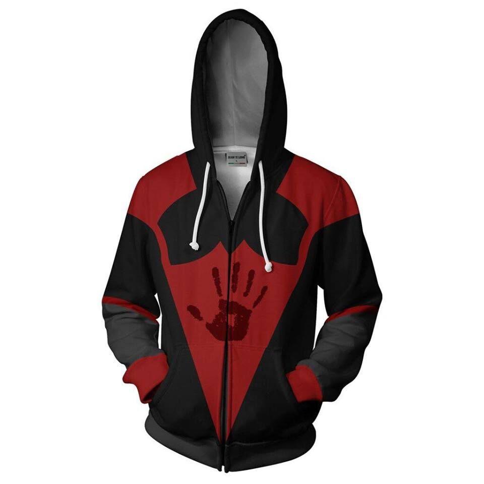 2019 3D Print New Elder Scrolls Dark Brotherhood Hooded Hot Long Sleeve Zipper Hoodie Cosplay Sweatshirt Jacket