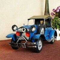 1932 Anos de Ford Liga Modelos de Carro Modelo Do Carro Brinquedos 1729 Vermelho/azul/branco