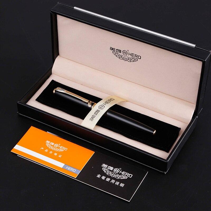MIRUI stylo plume pointe sombre adulte pratique mot 10 k or stylo boîte cadeau hommes d'affaires véritable haut de gamme écriture magasin étudiants