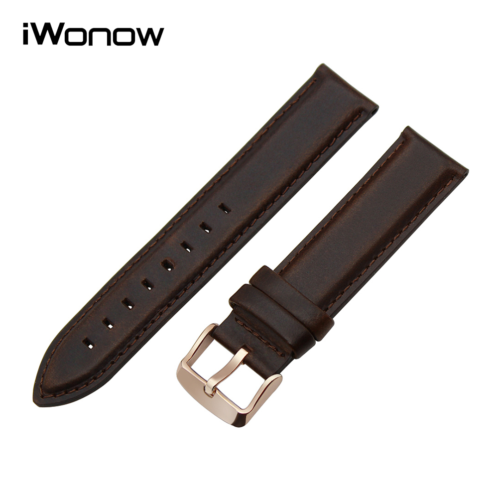 Top Genuine Leather Watchband for DW Daniel Wellington Watch Band Stainless Steel Clasp Strap Wrist Belt Bracelet 13mm 18mm 20mm 18mm 20mm silicone rubber watch band for dw daniel wellington wrist resin strap stainless stee safety buckle bracelet tools