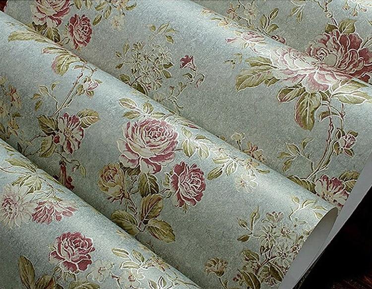 ФОТО beibehang papel de parede 3d garden non woven wallpaper sofa vintage American country living room TV backdrop bedroom wallpaper