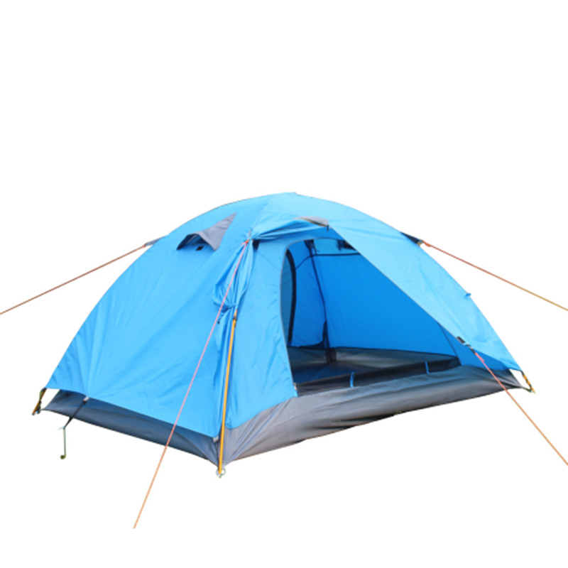 2 Person Camping Portable Folding Tents Aluminum Waterproof Windproof Tente For Hiking Picnic Climbing Tenda Barracas De L-04 worst person ever