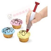 Новое поступление Силиконовая пищевая письменная ручка для украшения шоколада ручка для торта Форма для крема чашка