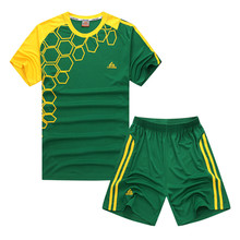 Colorful Kids' Soccer Jersey with Shorts