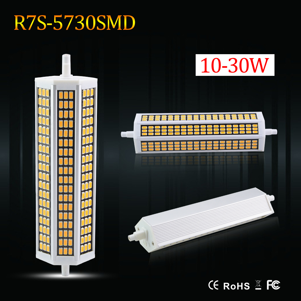 J78 j118 j135 j189 smd5730 220v r7s led bulb lamp 78mm to for R7s led 78mm 20w
