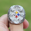 Free shipping 2008 Pittsburgh Steelers Super Bowl Championship Ring SZ 11 Christmas gift Fan sport Football ring