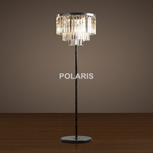 Factory Outlet Modern Vintage Crystal Floor Lamp Light Home Lighting Decoration Made by Polaris Lighting(China)