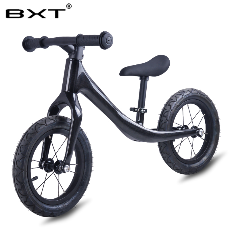 2018 BXT педали-меньше баланс велосипед карбоновый детский баланс велосипед для От 2 до 6 лет детский полный велосипед для детей карбоновый вело...