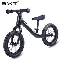 2018 BXT педали меньше баланс велосипед карбоновый детский баланс велосипед для От 2 до 6 лет детский полный велосипед для детей карбоновый вело