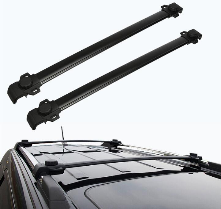 Barre transversale de bagages de porte-bagages de toit de voiture pour le voyage de Dodge JCUV 2009-2018 par EMS avec la serrure