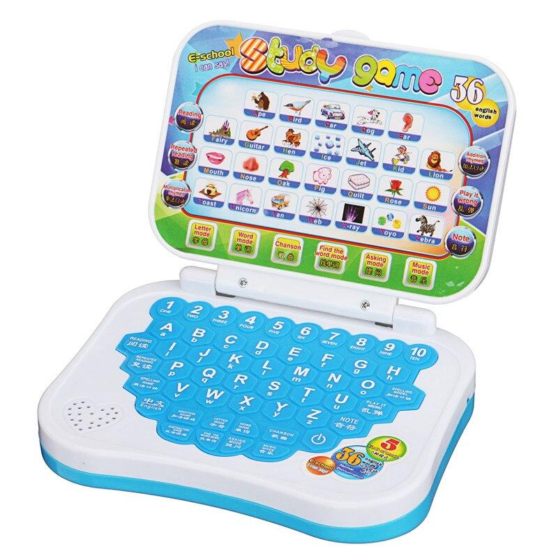 Onwijs Nieuwe Opvouwbare Baby Kid Peuter Educatief Studie Game Computer JH-02