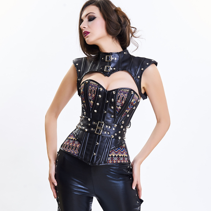 waist trainer slimming shaper body shapers women Gothic Steampunk   corset     bustier     corset   Gothic clothing   bustiers     corsets   tights