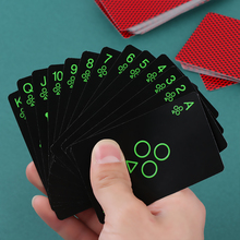 1Set Luminous Poker Glow In The Dark Novelty Fluorescent Playing Cards New Random Color! Bar Game Collectibles