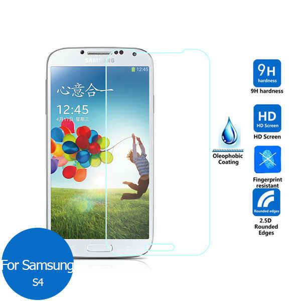 ee72c2c9613 Para Samsung Galaxy S4 protector de pantalla de cristal templado de 2,5 9 h