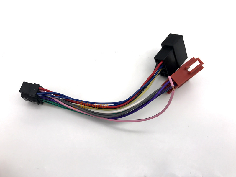 ISO standard HARNESS FOR CAR AUDIO INSTALLATION (Power & Speakers ...