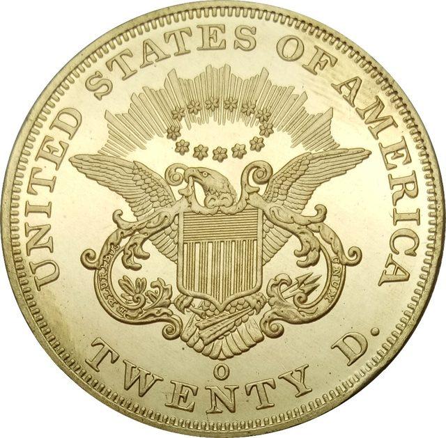 Online Shop Vereinigten Staaten 20 Dollar Gold Münzen 1859 1859 O
